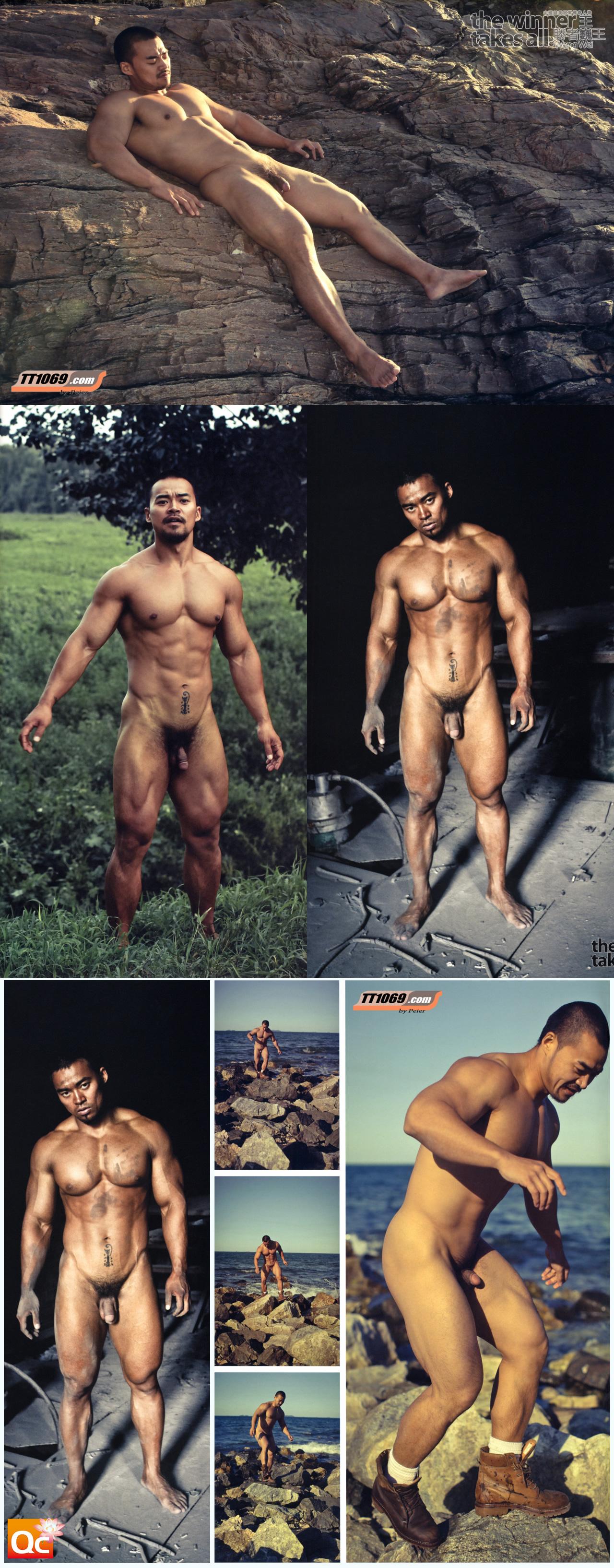 nude Wang wei