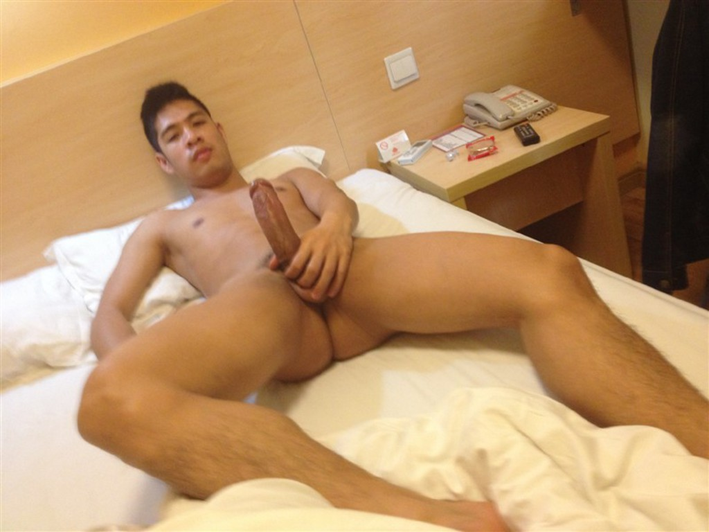 big Asian cock loves