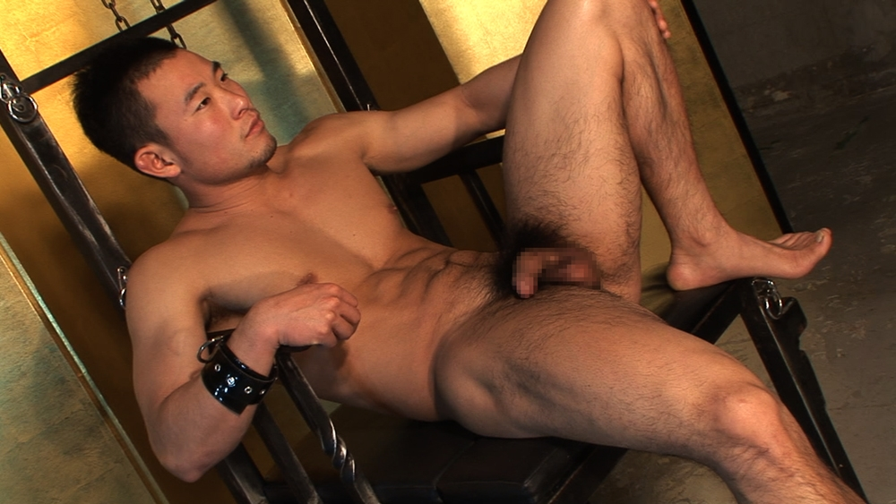 Japanese Hunk Stretching