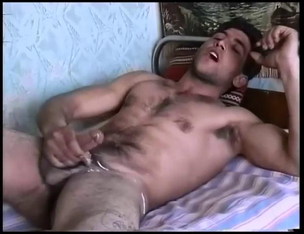 male jerking off