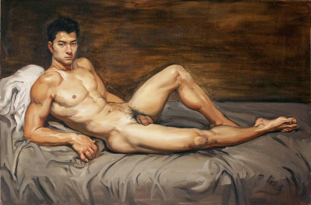 french male artist gay