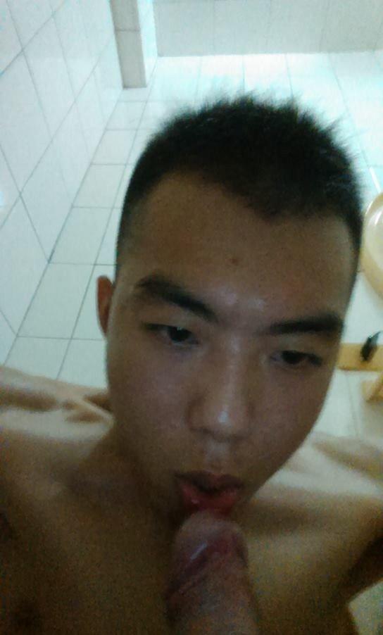 Boy sucks himself till cum and gay 2