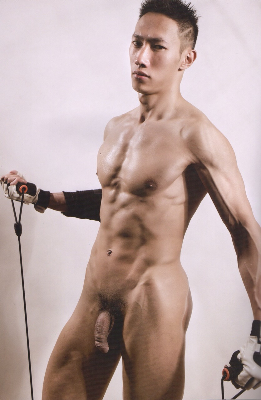 nude Hot asian male models