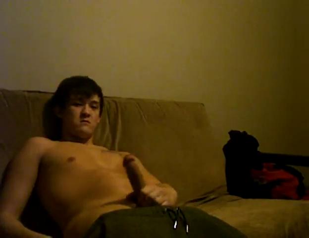 Asian boy jack off