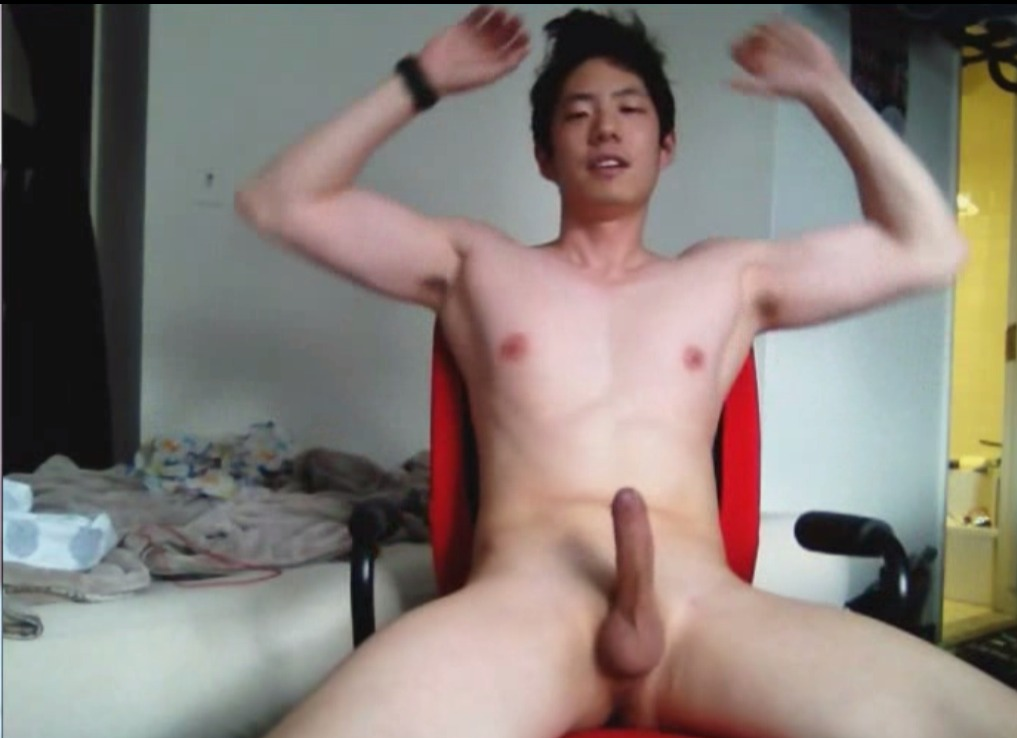 Two Asians Jerk Off
