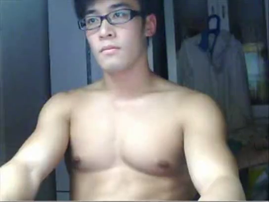 Jerking off asian men