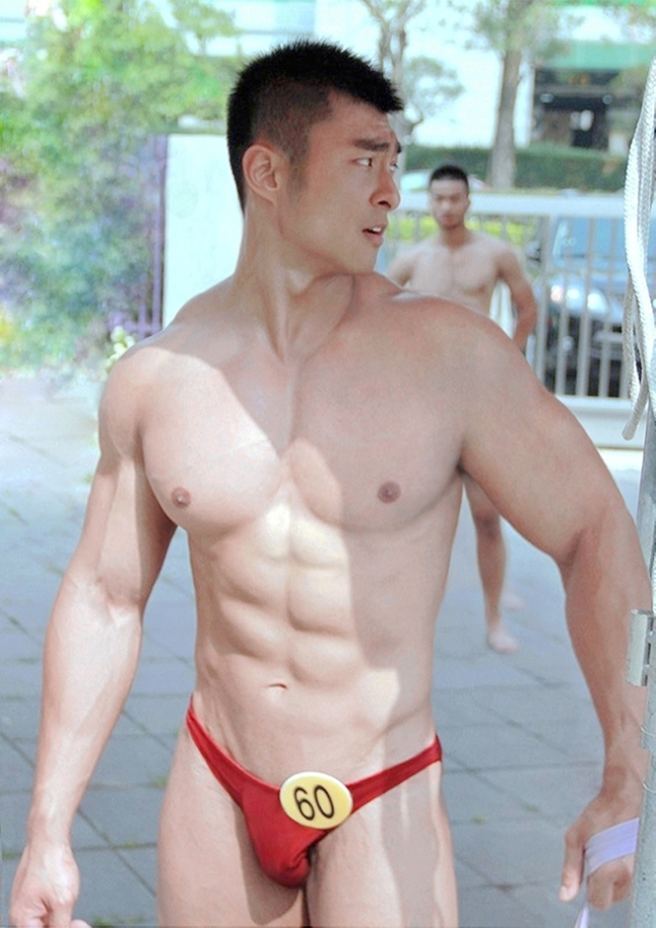 Naked thai muscle hunk