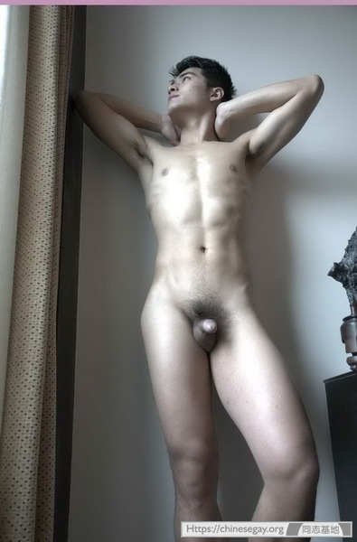 hunky chinese model cheng qian part queerclick