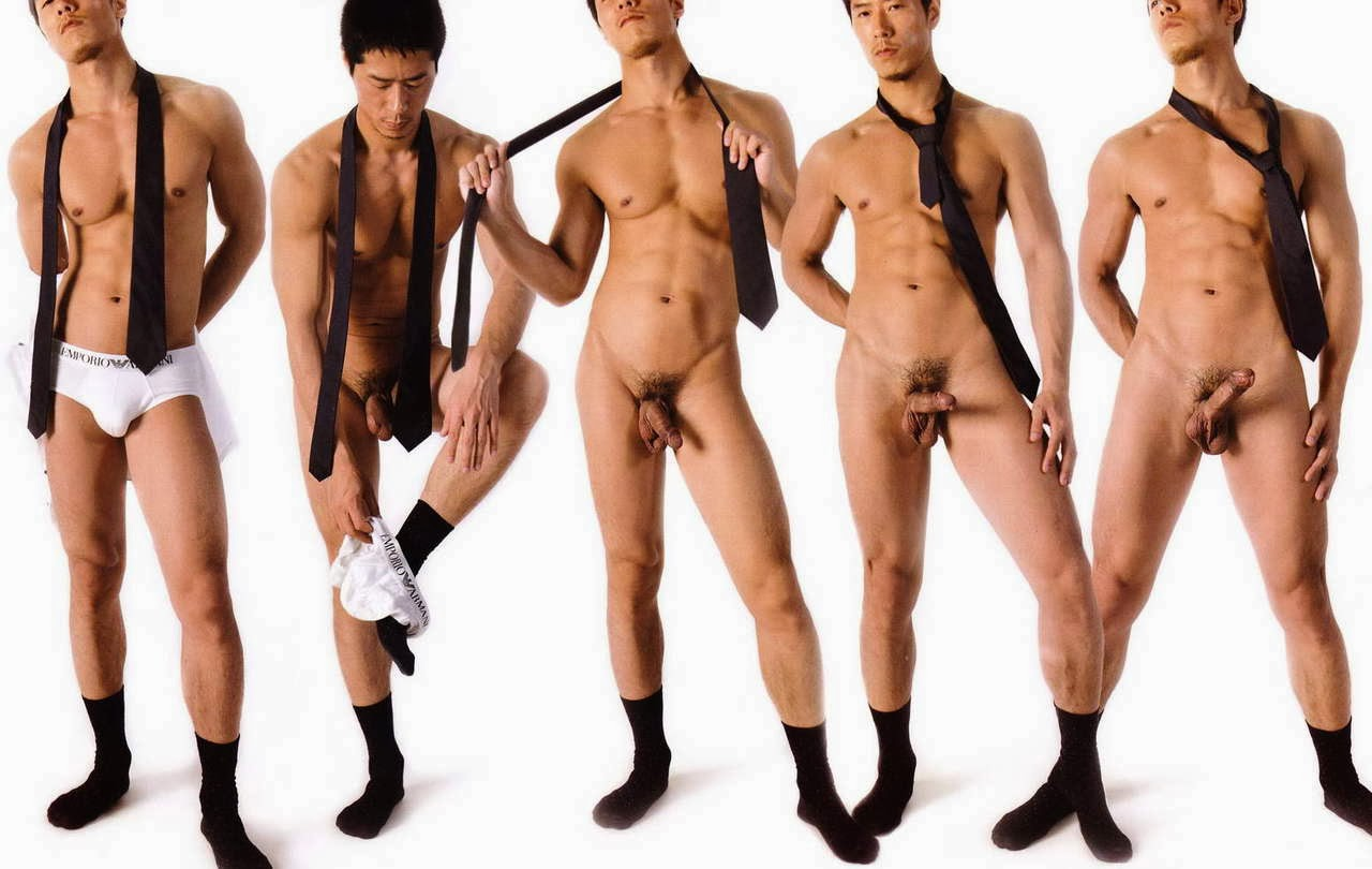 hot asia men nude