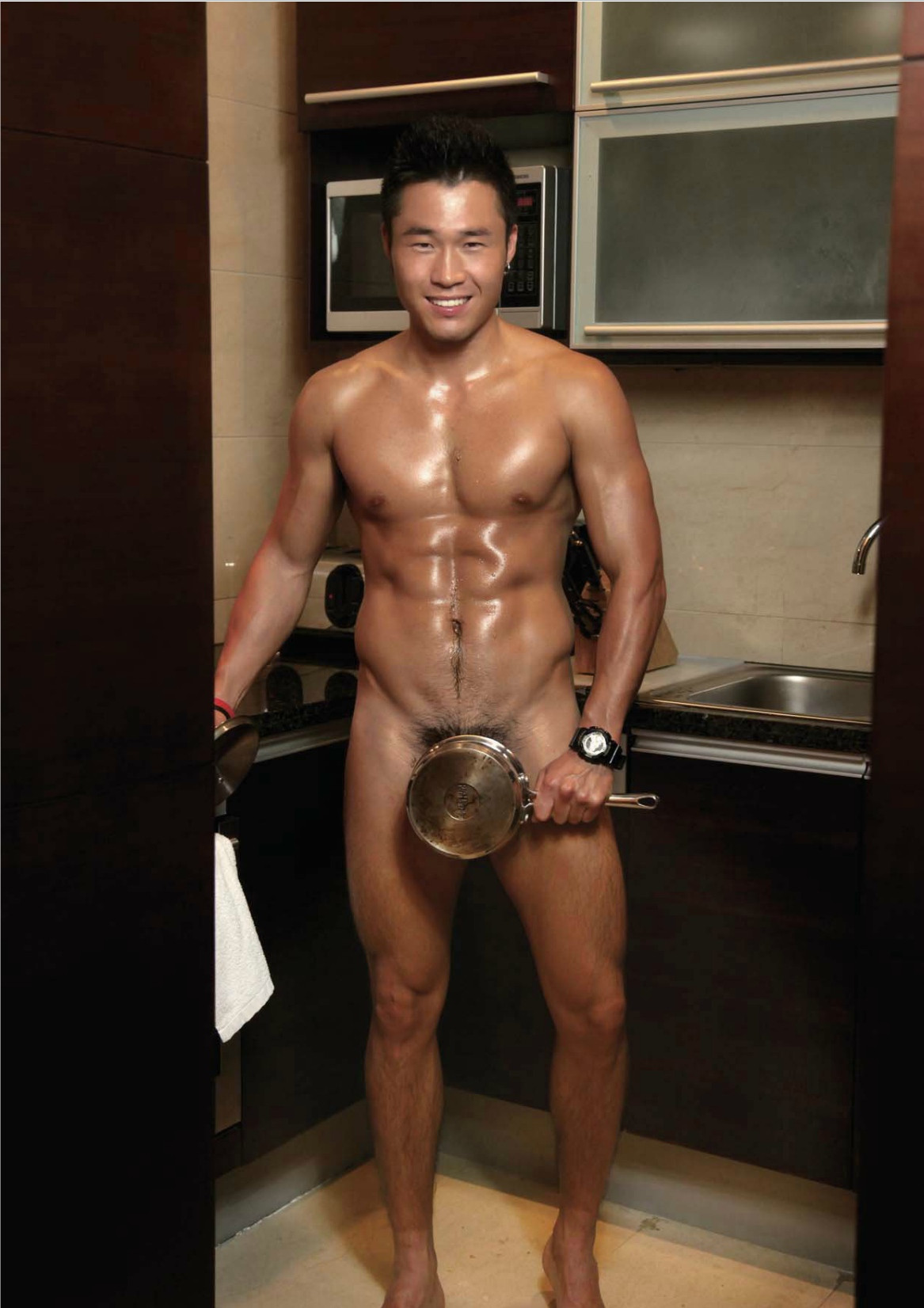 nude asian muscle boy