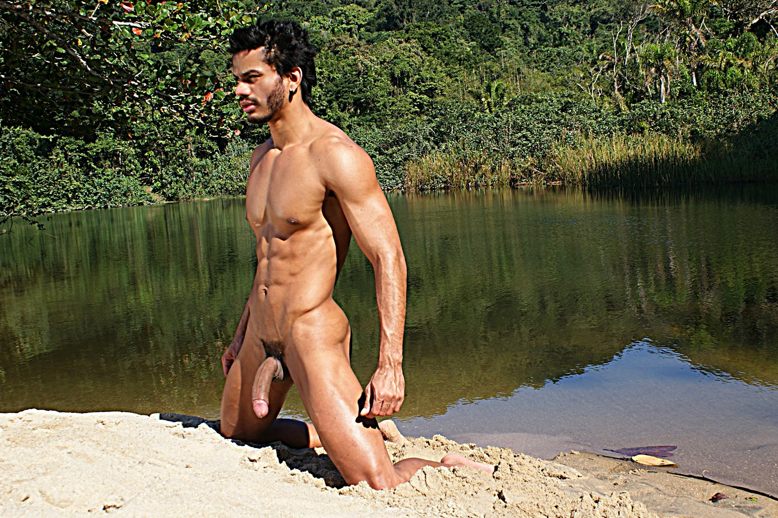 Men on brazilian beaches you