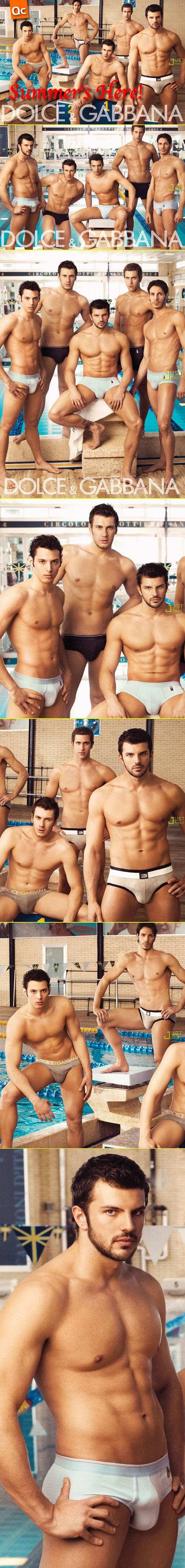 Dolce & Gabanna Underwear: Summer's Here!