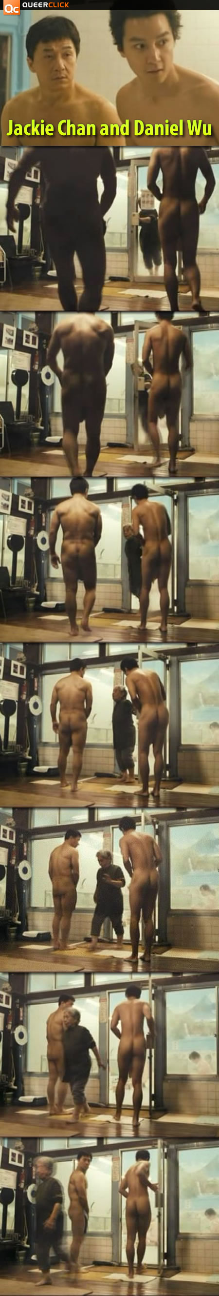 Jackie Chan and Daniel Wu Strip Naked