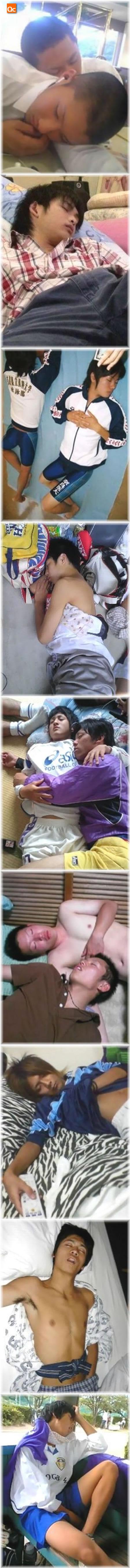 沉睡中的可愛亞男