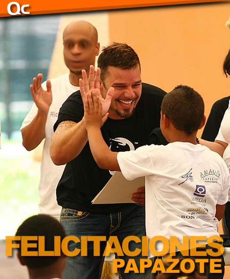 ¡Ricky Martin es un Papazote!