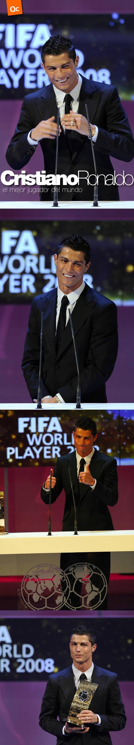 Cristiano Ronaldo, el Mejor Jugador de la FIFA