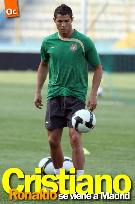 Cristiano Ronaldo se Viene a Madrid