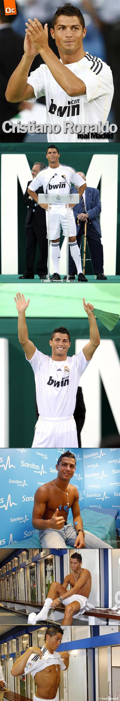 Cristiano Ronaldo en el Real Madrid