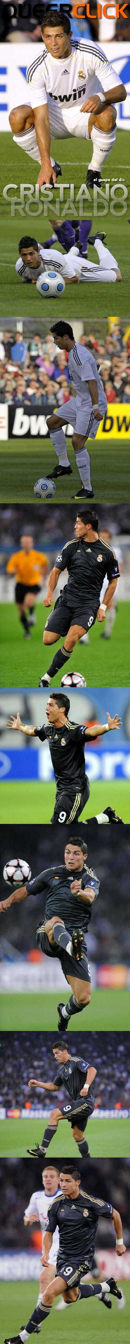 El Guapo del Día: Cristiano Ronaldo