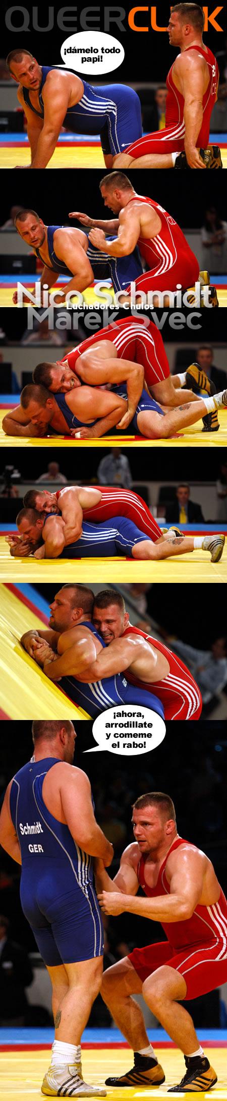 Luchadores Chulos: Nico Schmidt VS Marek Svec