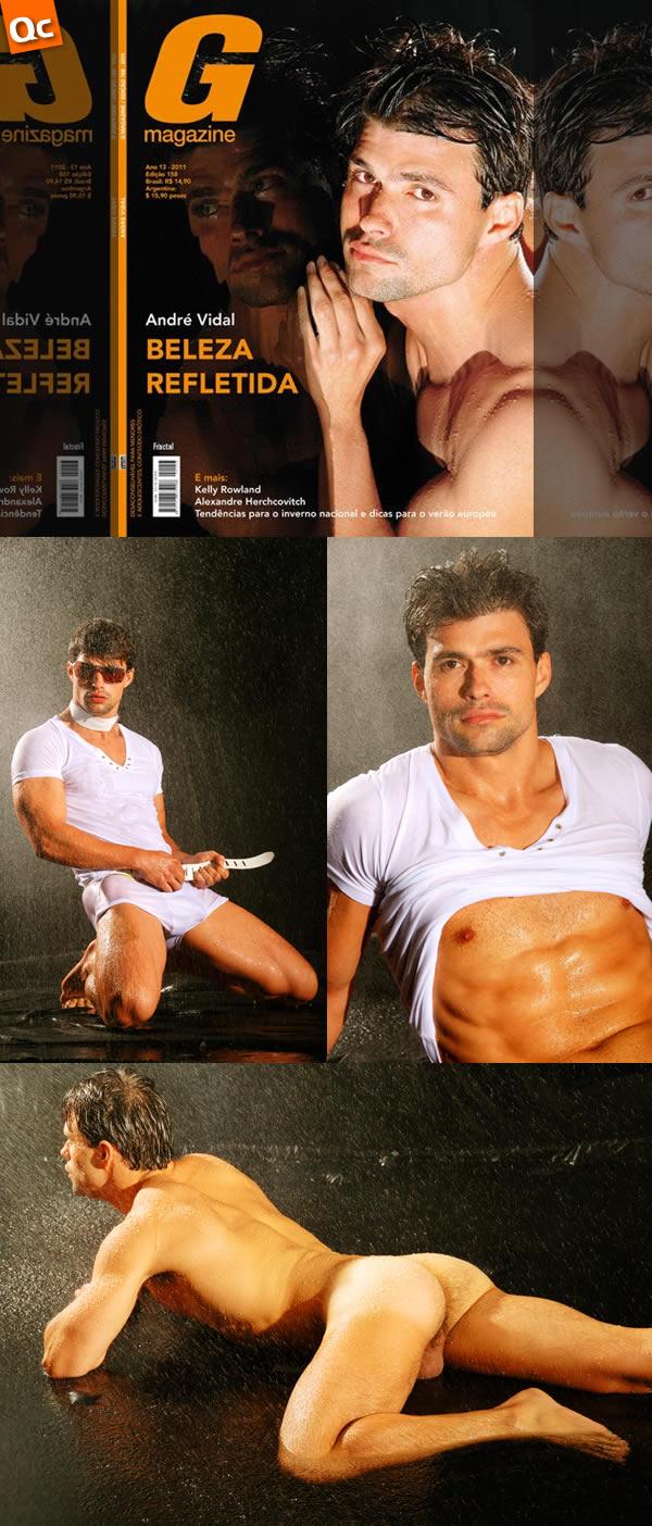 G Magazine: André Vidal (1)