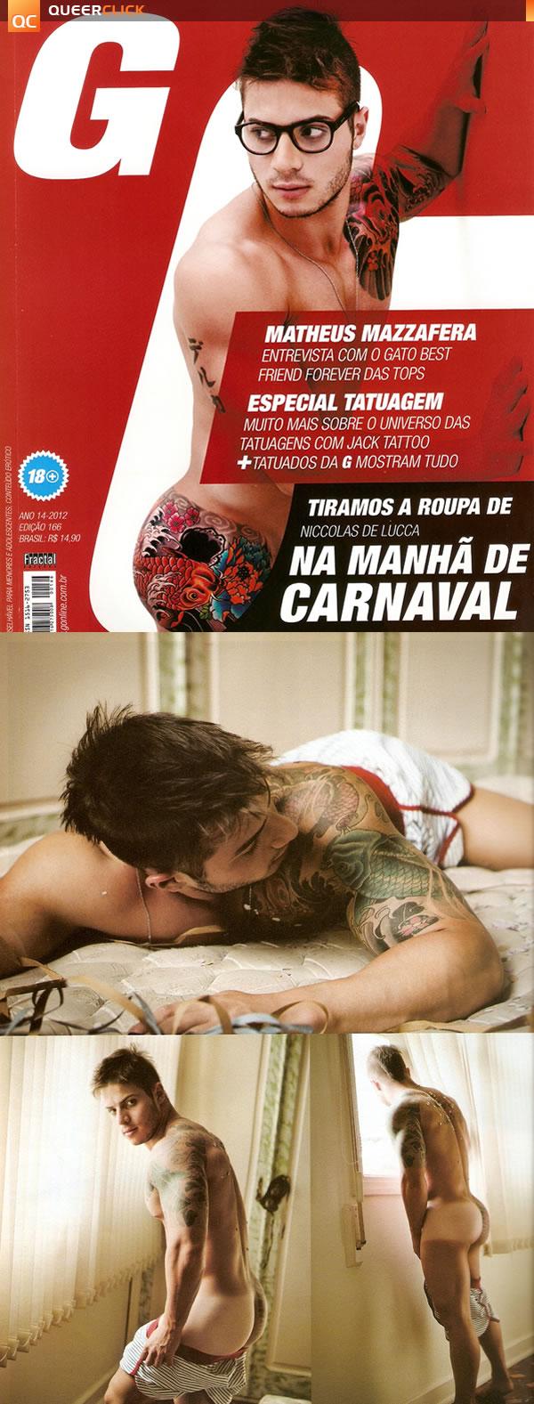 G Magazine: Niccolas Lucca