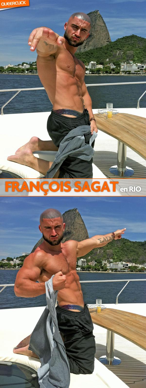 François Sagat en Rio