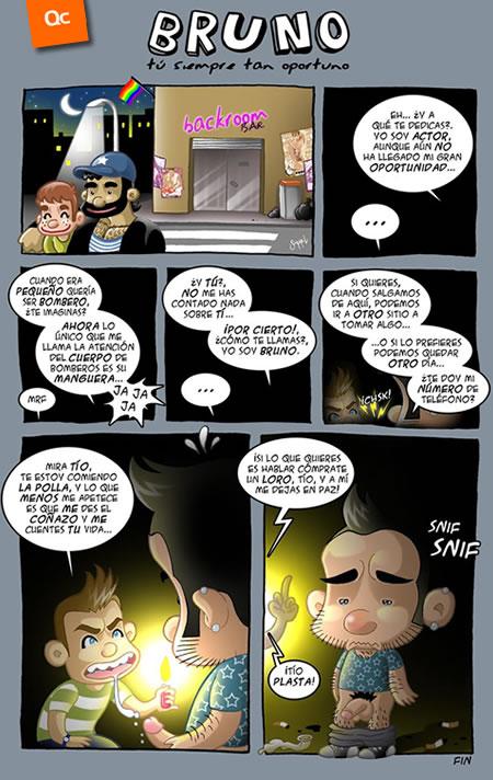 Bruno en el Cuarto Oscuro