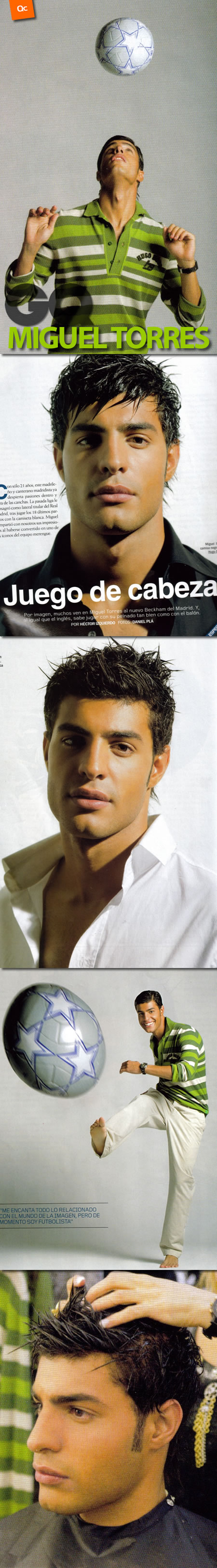 Miguel Torres para GQ
