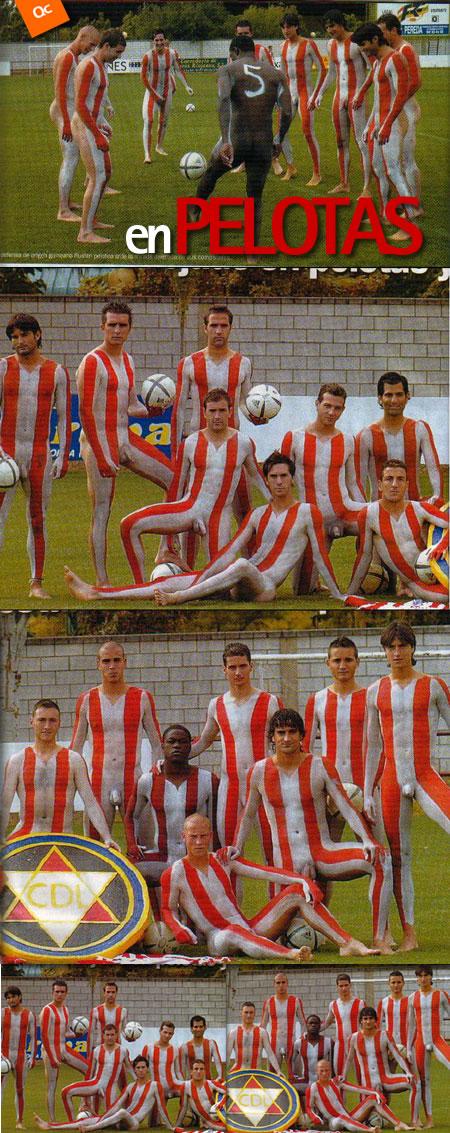 Hombres Desnudos Machos Guapos Un Jugador De Futbol Desnudo Para Su