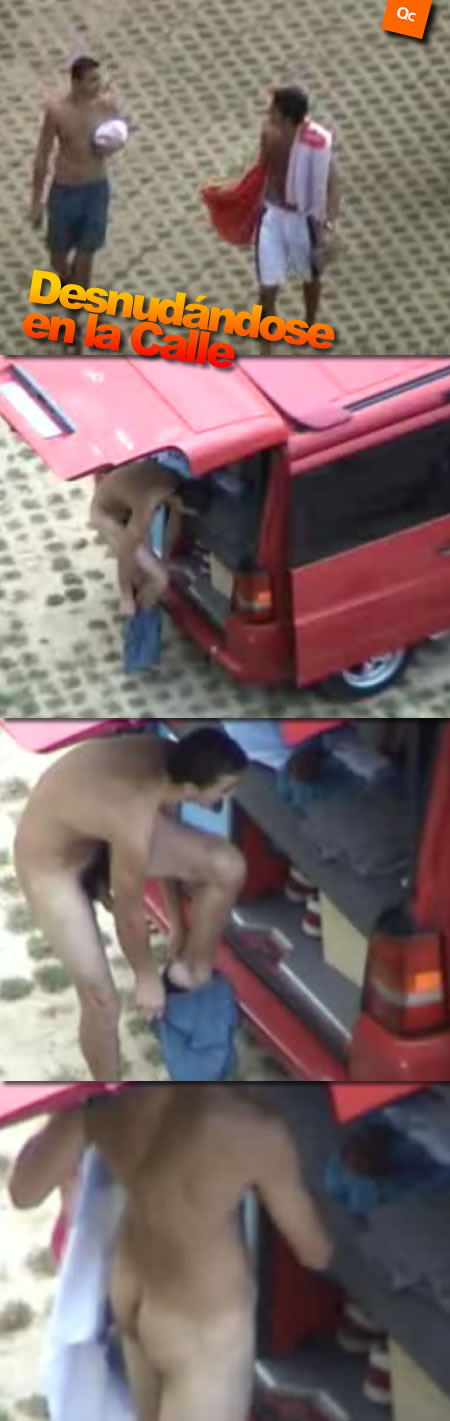 Desnudándose en la Calle
