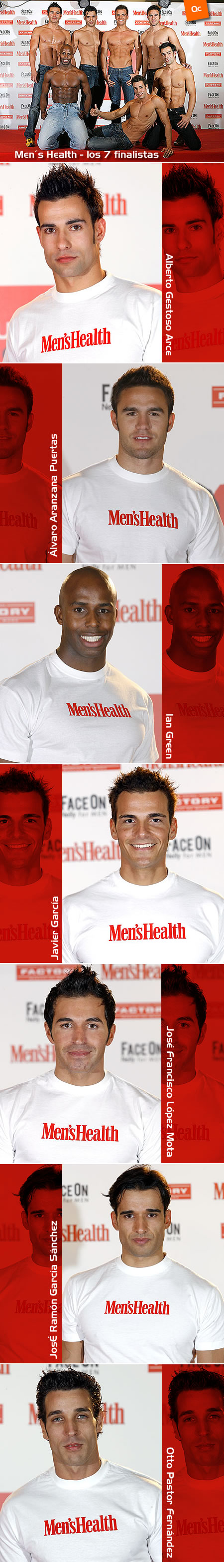 Los 7 Finalistas de Men's Health