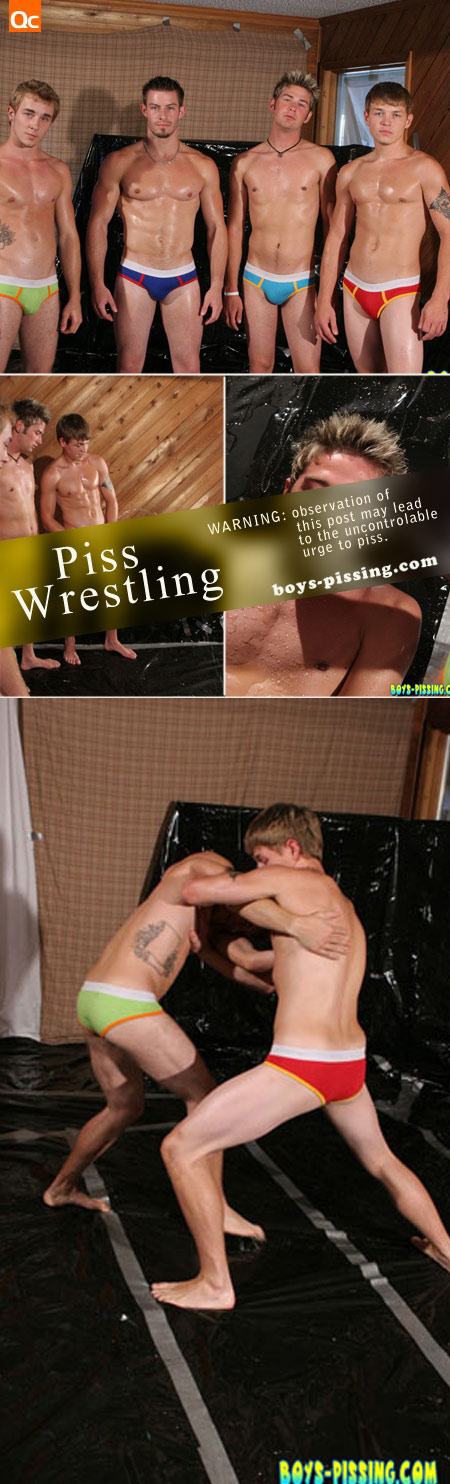 pissing wrestling cumming