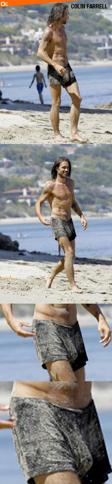 Colin Farrell Beach Bulge