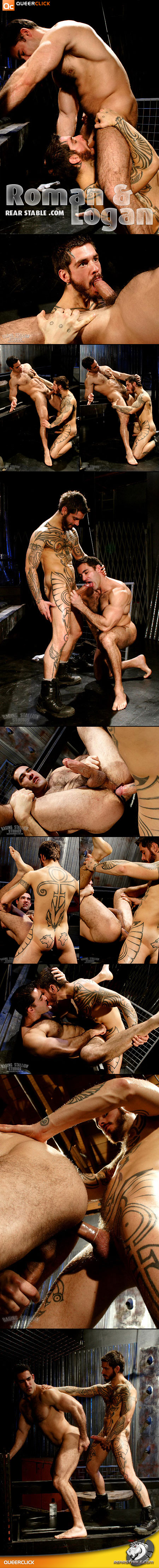 Roman Ragazzi and Logan McCree at RearStable.com