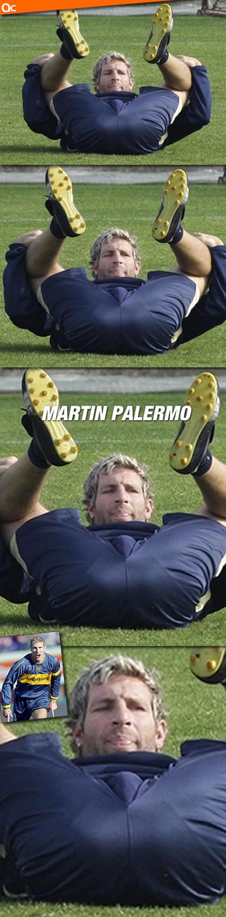 Martin Palermo Bulge