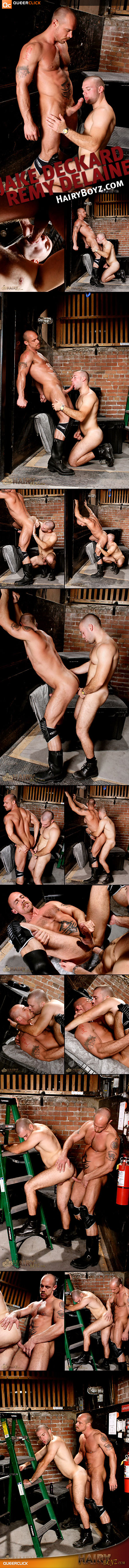 Jake Deckard and Remy Delaine at HairyBoyz.com