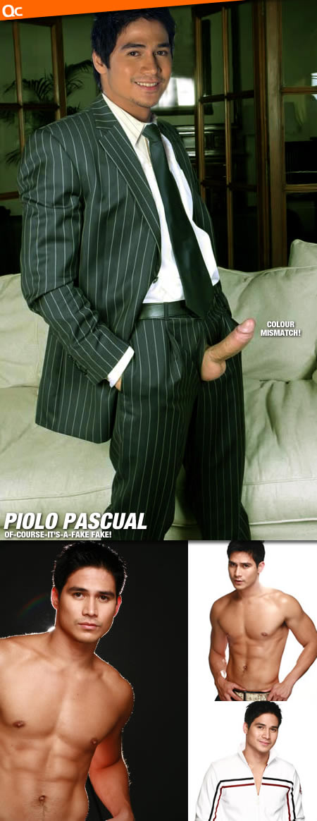 Piolo Pascual Erection
