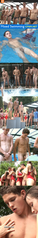 cfnm vintage mixed swimming Keep Michael Phelps, We Like Jack