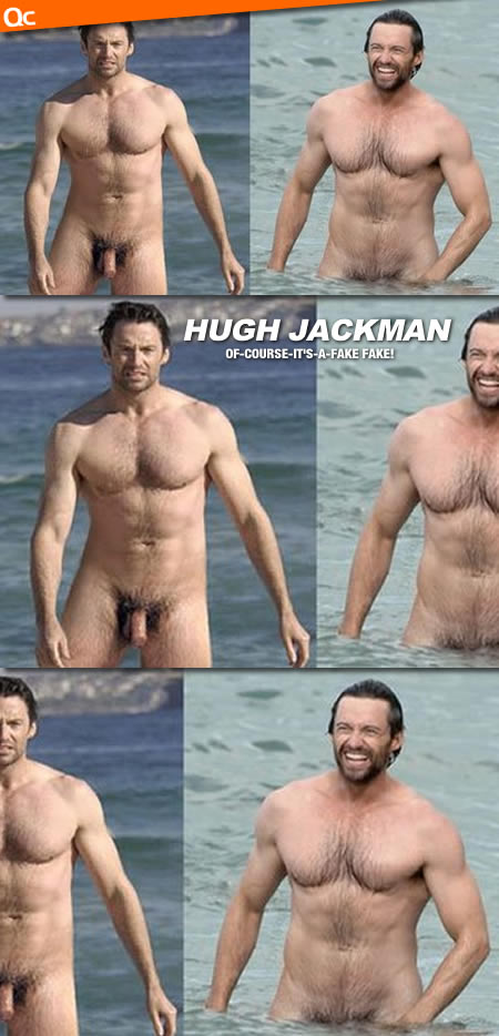 Hugh Jackman Full Frontal Nude & Cock!