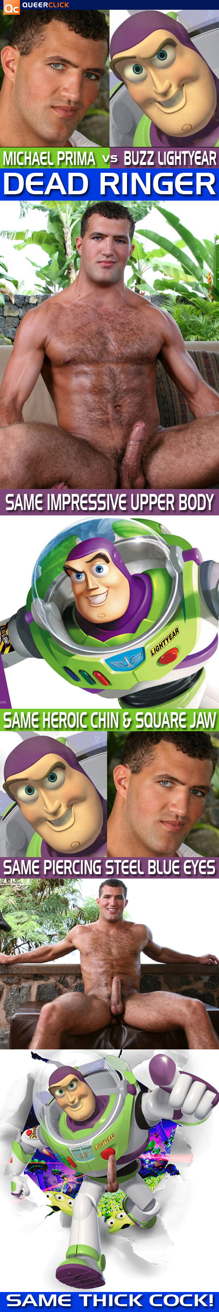 Dead Ringer: Men Machine's Michael Prima vs. Buzz Lightyear
