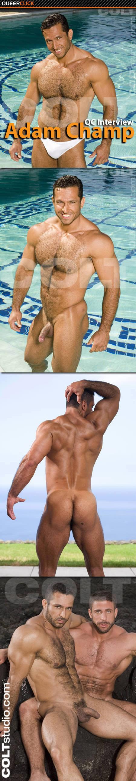 Adam Champ Carlo Masi Gay Porn Free Videos qc interview: adam champ - queerclick
