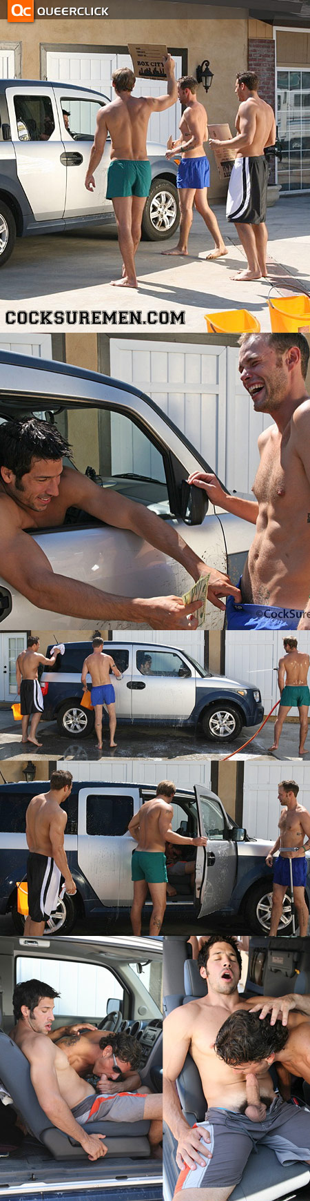 Cocksure Men Kappa Omega Kappa Car Wash