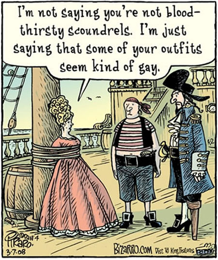 Pirates are soooo gay