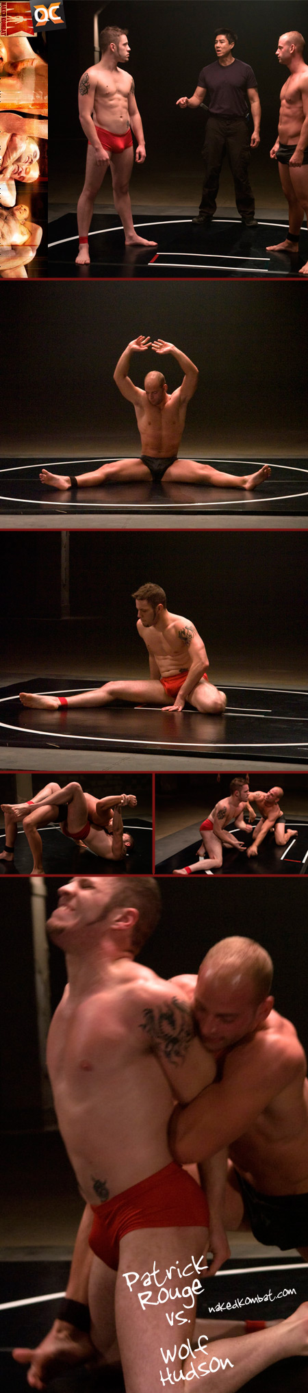 naked kombat wolf hudson patrick rouge
