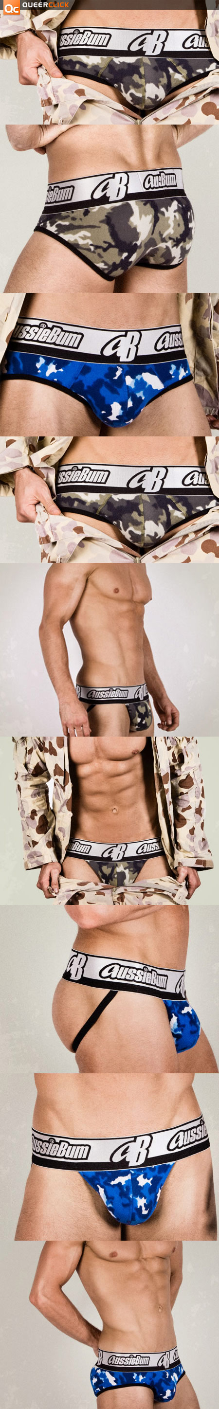 aussieBum's Soldier Will Make You Stand At Attention!