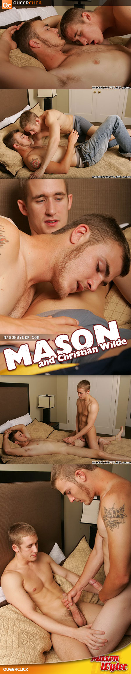 Mason Wyler: Mason and Christian Wilde
