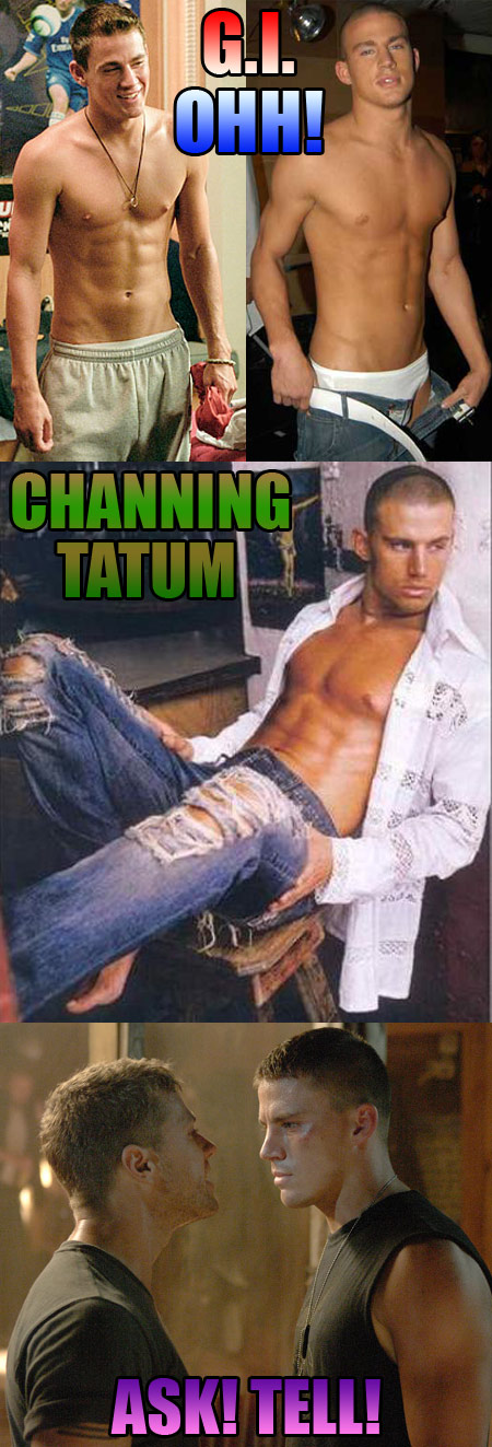 G.I. OHH! - Channing Tatum's