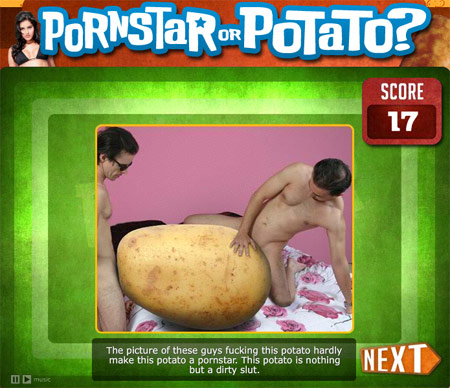 Two Food-Related Sex Games: Porn Star OR Potato & Steakhouse OR Gay Bar