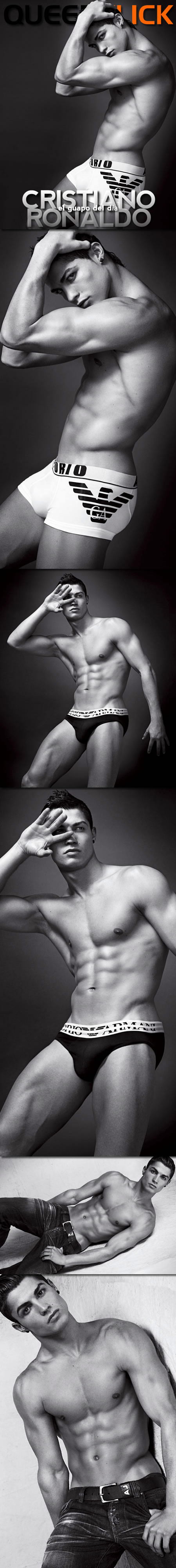 QCrush Cristiano Ronaldo Gets With Armani, Gets His Own QC Fan Club Page!